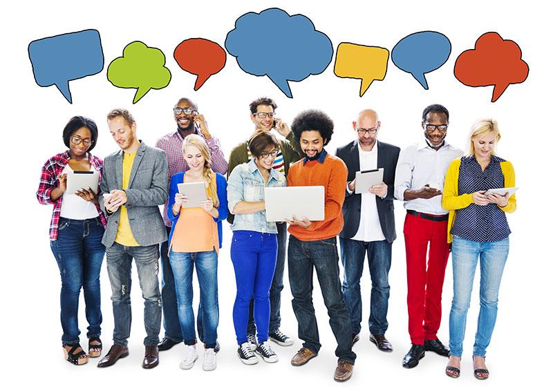 diverse-social-network