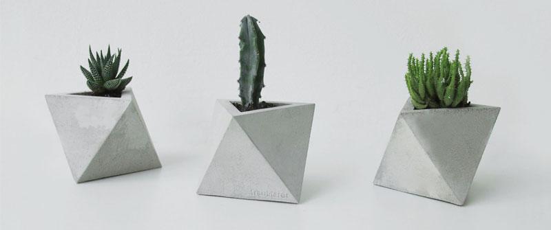 octahedron-concrete-planter