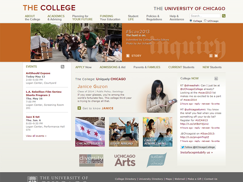 University of Chicago College