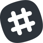 slack-monochrome-icon